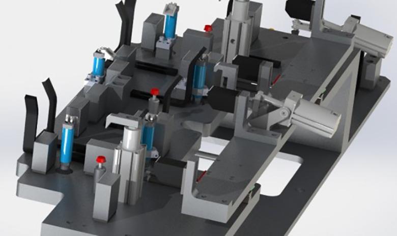 CAD Drawing - Fixture