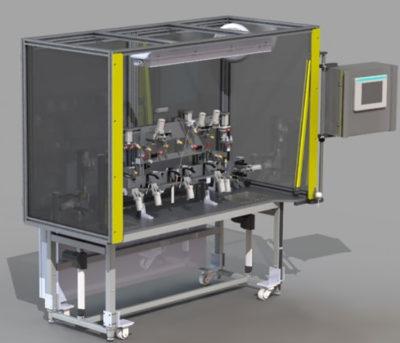 CAD Drawing - Check Station